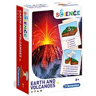 Kreatív szett Clementoni A föld és a vulkánok