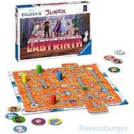 Ravensburger 204991 Junior Labirintus Disney Jégvarázs 2 - Társasjáték