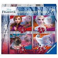 Ravensburger 030194 Disney Jégvarázs 2, 4 az 1-ben - Puzzle