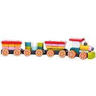 Cubika 13319 Vonat három vagonnal - Fajáték