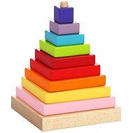 Cubika 13357 Színes piramis