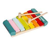 Fajáték Cubika 14033 Xilofon LKS-2 hangszer - Dřevěná hračka