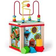 Woody Kis készségfejlesztő kocka mágikus kerekekkel