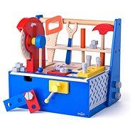 Woody Ezermester barkácsasztal / doboz körfűrésszel - Fajáték
