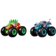 Játékautó Hot Wheels Monster trucks romboló duó - Auto