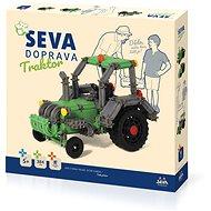 Seva Szállítás Traktor - Építőjáték