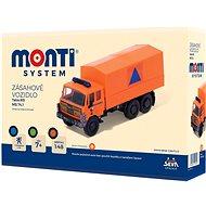 Monti 74 Tatra 815 Katasztófavédelmi autó - Építőjáték