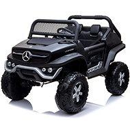 Mercedes Unimog fekete - Elektromos autó gyerekeknek