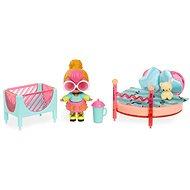 L.O.L. Bútor babával - Hálószoba & Neon Q.T. - Kiegészítők babákhoz