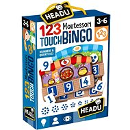 Montessori - kézzelfogható bingó - Társasjáték