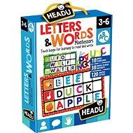 Montessori - Bingo - Betűk és szavak - Társasjáték