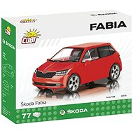 Cobi Škoda Fabia 2019-es modell 1:35 - Építőjáték