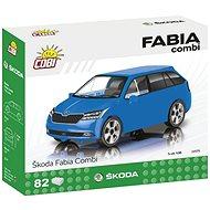 Cobi Škoda Fabia Combi 2019-es modell 1:35 - Építőjáték