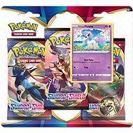 Pokémon TCG: Sword and Shield 3 Blister Booster - Kártyajáték