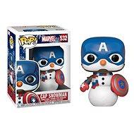 Funko POP Marvel: Holiday S2 - Capt America - Figura