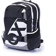 Karton P+P Oxy Sport I. Fekete-fehér - Gyerek hátizsák