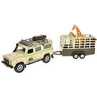 Land Rover Defender Safari Játékautó - Fém makett