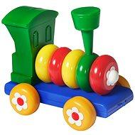 Húzható mozdony - Játékautó