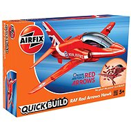 Airfix Quick Build J6018 Repülőgépmodell - Red Arrows Hawk - Műanyag modell
