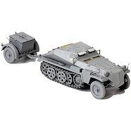 Műanyag katonai Sárkány Model  Kit D6718 - Sd.Kfz.252 féllánctalpas lőszerszállító - Műanyag modell