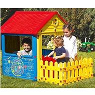 DOLU Kerti játszóház kerítéssel - Játszóház