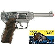 Rendőrségi fegyver - ezüst - Játékfegyver