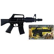 Fekete rendőrségi gépkarabély - Játékfegyver