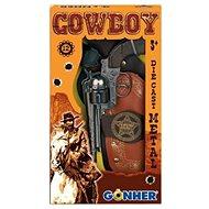 Children's Revolution Cowboy Kit + Sheriff's Star - Játékfegyver
