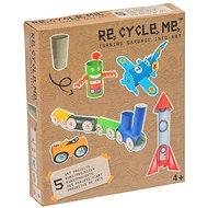 Re-Cycle-Me fiúknak - papírtekercs - Játék szett