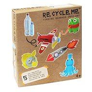 Re-cycle me fiúknak - PET palack szett - Játék szett