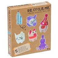 Re-cycle me kislányoknak – PET palackok készlet  - Játék szett