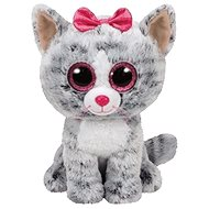 Beanie Boos Kiki - Grey Cat