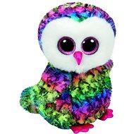 Plüssjáték Beanie Boos Owen - Multicolor Owl