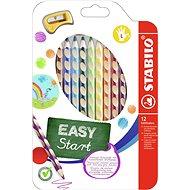 Stabilo Easycolours balkezes 12 db - Színes ceruzák
