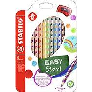 Stabilo Easycolours jobbkezes 12 db - Színes ceruzák