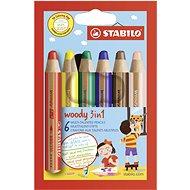 Stabilo Woody 3 in 1 - Színes ceruzák