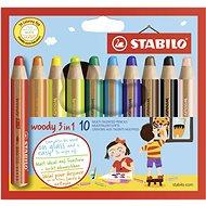 Stabilo Woody 10 szín - Kreatív szett