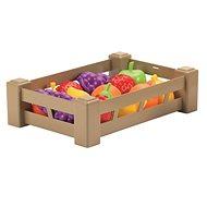 Ecoiffier láda gyümölcsökkel vagy zöldségekkel - Játék szett