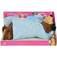 Simba Mása és a medve - horkoló plüssmackó - Plüssjáték