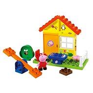 PlayBig Bloxx Peppa malac  - Kertes kisház - Építőjáték