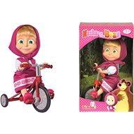 Simba Mása és Medve Mása egy triciklin - Baba
