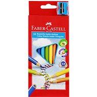 Faber-Castell Jumbo ceruzák, 10 szín - Színes ceruzák