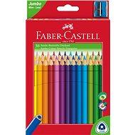 Faber-Castell Jumbo ceruzák, 30 különböző színben - Színes ceruzák