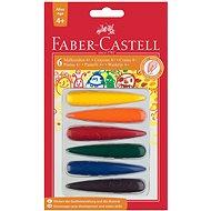 Faber-Castell marokba fogható műanyag ceruzák tenyérbe, 6 szín - Színes ceruzák