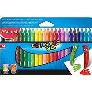 Maped Color Peps Wax, 24 szín - Színes ceruzák