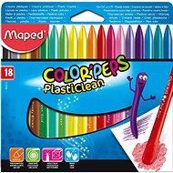 Maped Color Peps Plasticlean, 18 darabos - Színes ceruzák