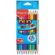Színes ceruzák Maped Color Peps Duo, 24 színben - Színes ceruzák
