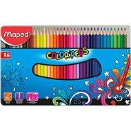 Maped Color Peps Metal Box, 36 szín - Színes ceruzák