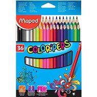 Maped Color Peps színes ceruza, 36 színben - Színes ceruzák