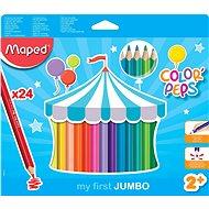 Maped Color Peps Jumbo, 24 szín - Színes ceruzák